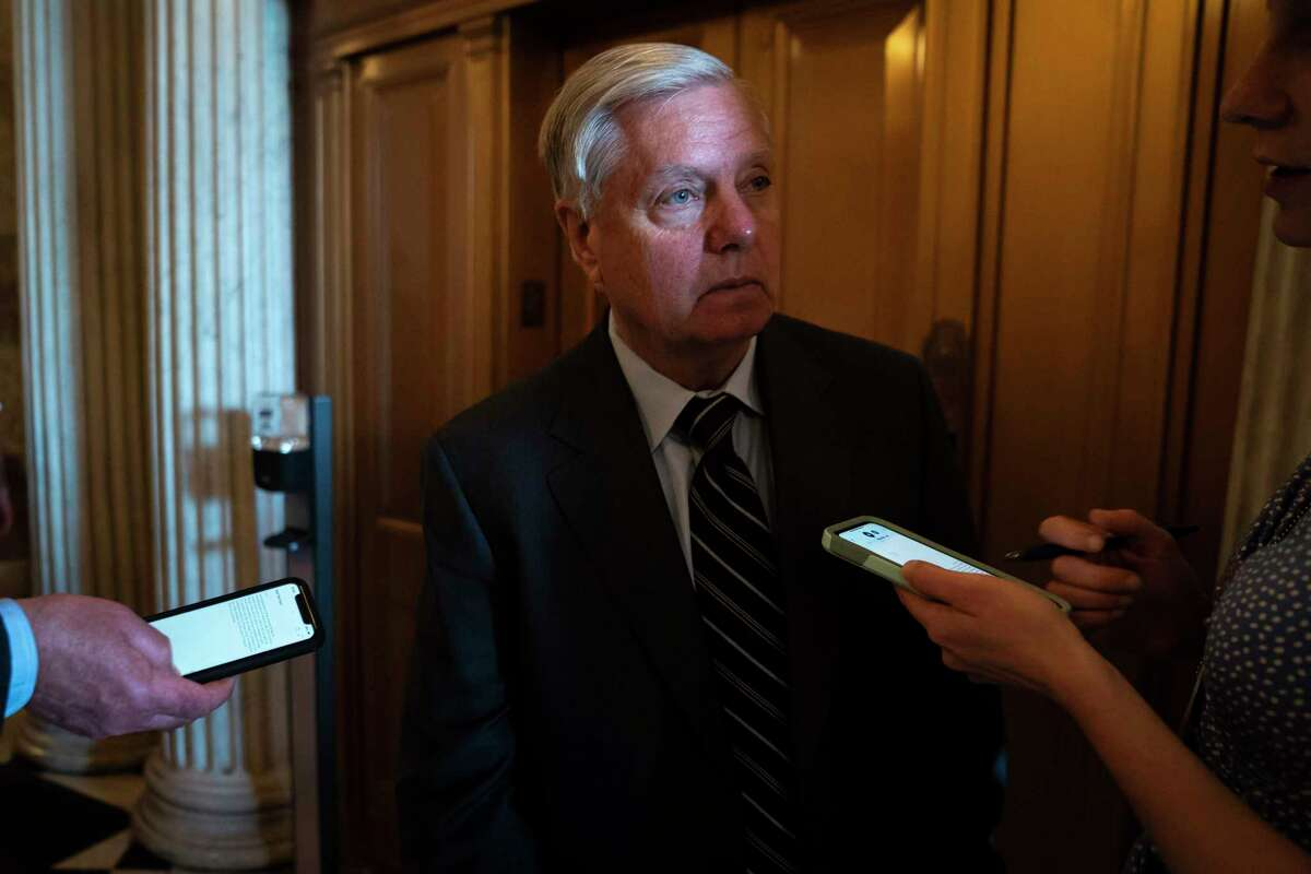 Sen. Lindsey Graham, R-S.C., leaped to defend fast-food chain Chick-fil-A on Thursday.