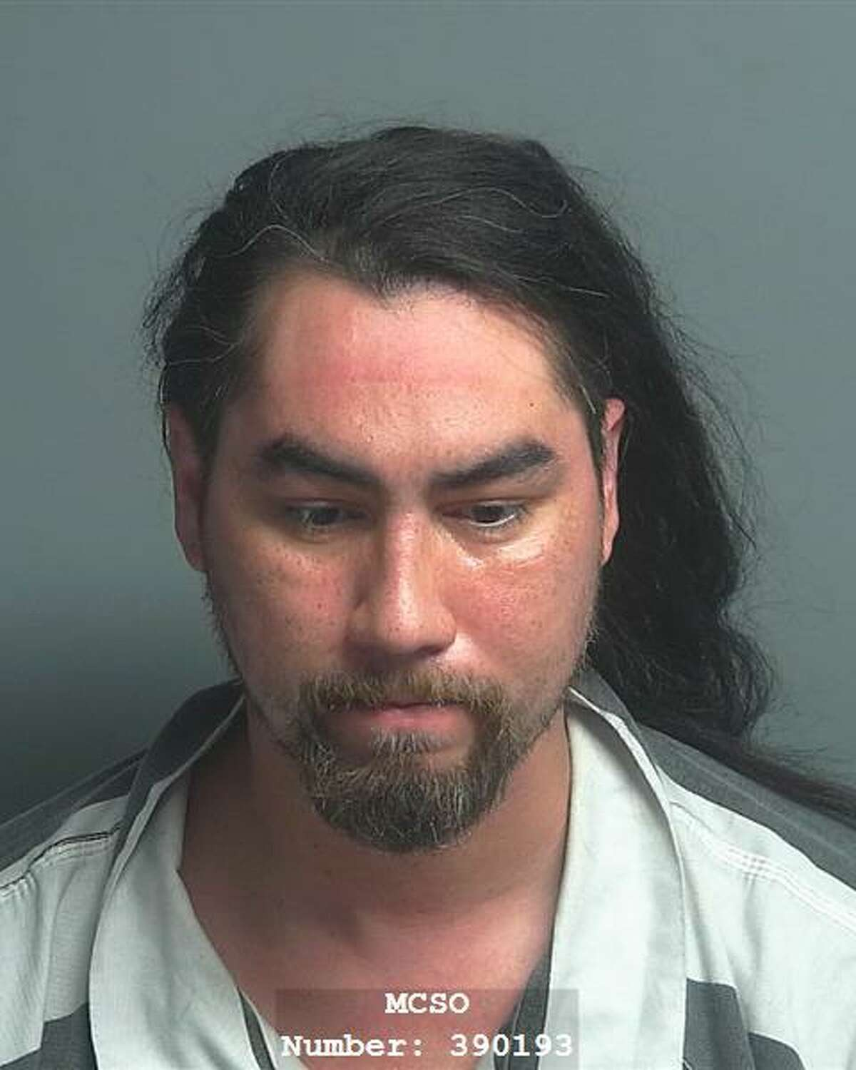 Anthony Dutro Maldonado, 35, is charged with unlawful restraint, less than 17 years old, a state jail felony.