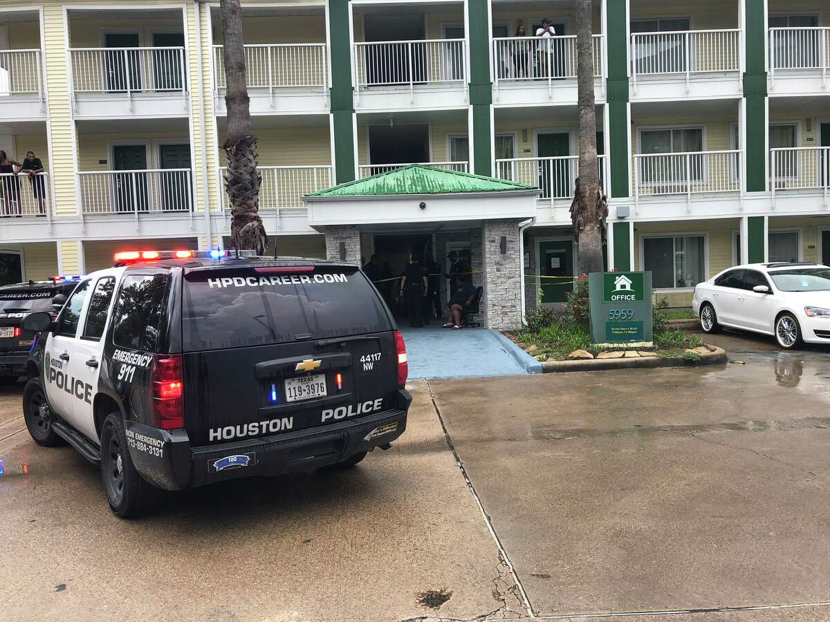 Police are investigating a shooting scene where one man was found dead Thursday afternoon at a northwest Houston extended stay hotel, according to authorities.