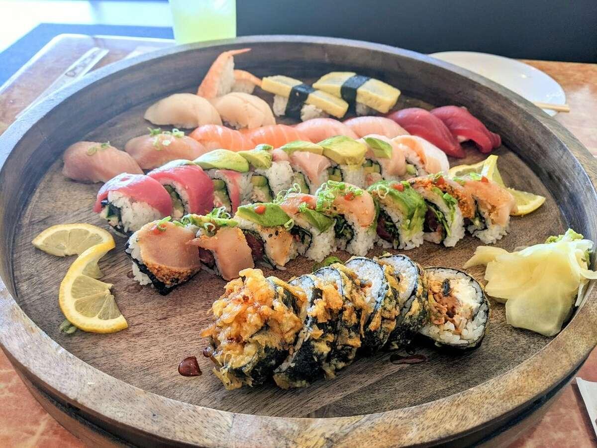 Hokkaido set from Q Sushi Bar & Kitchen.