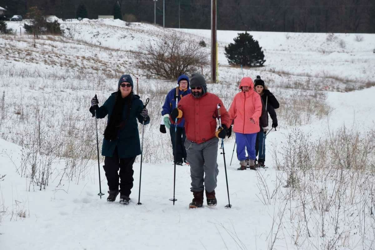 After the 2021 Snowshoe Stampeded event fundraiser was canceled, the Stomp Out Cancer Fund was benefitted by a collaborativechallenge that led to almost $26,555 in donations from over 40 Manistee area businesses and individuals. (File photo)
