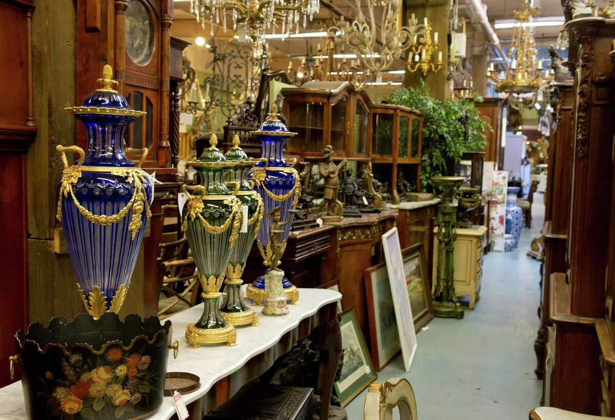 A wide variety of items for sale at United House Wreckers in Stamford, Conn.