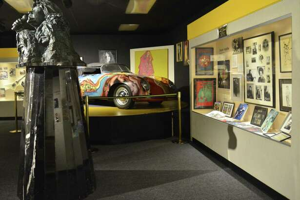 Janis Joplin memorabilia and merchandise are a big draw at Port Arthur's Museum of the Gulf Coast, where the tragic musician is part of its Music Hall of Fame.