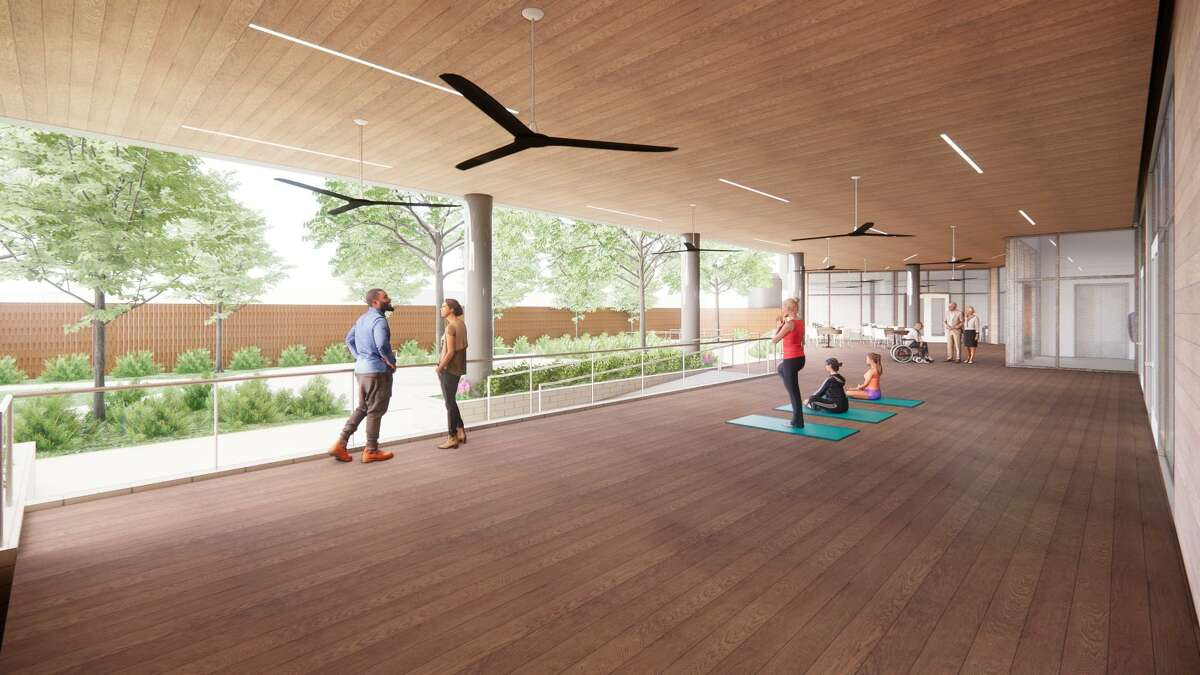 The Galveston-based, nonprofit neurological rehabilitation center will include a therapy gym, outdoor courtyard and other amenities for patients recovering from brain injuries.
