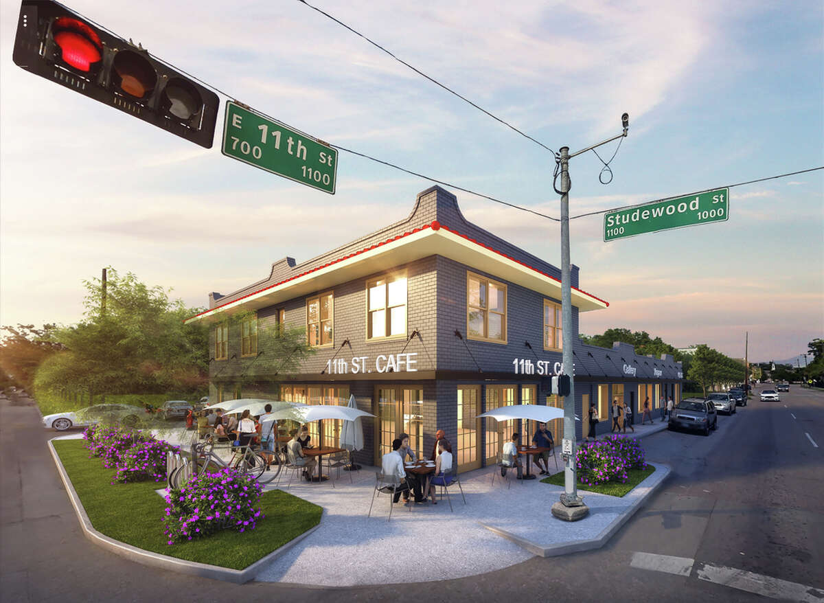 Wolf Capital Partners will redevelop a building at the corner of 11th Street and Studewood in the Heights for retail and office use.