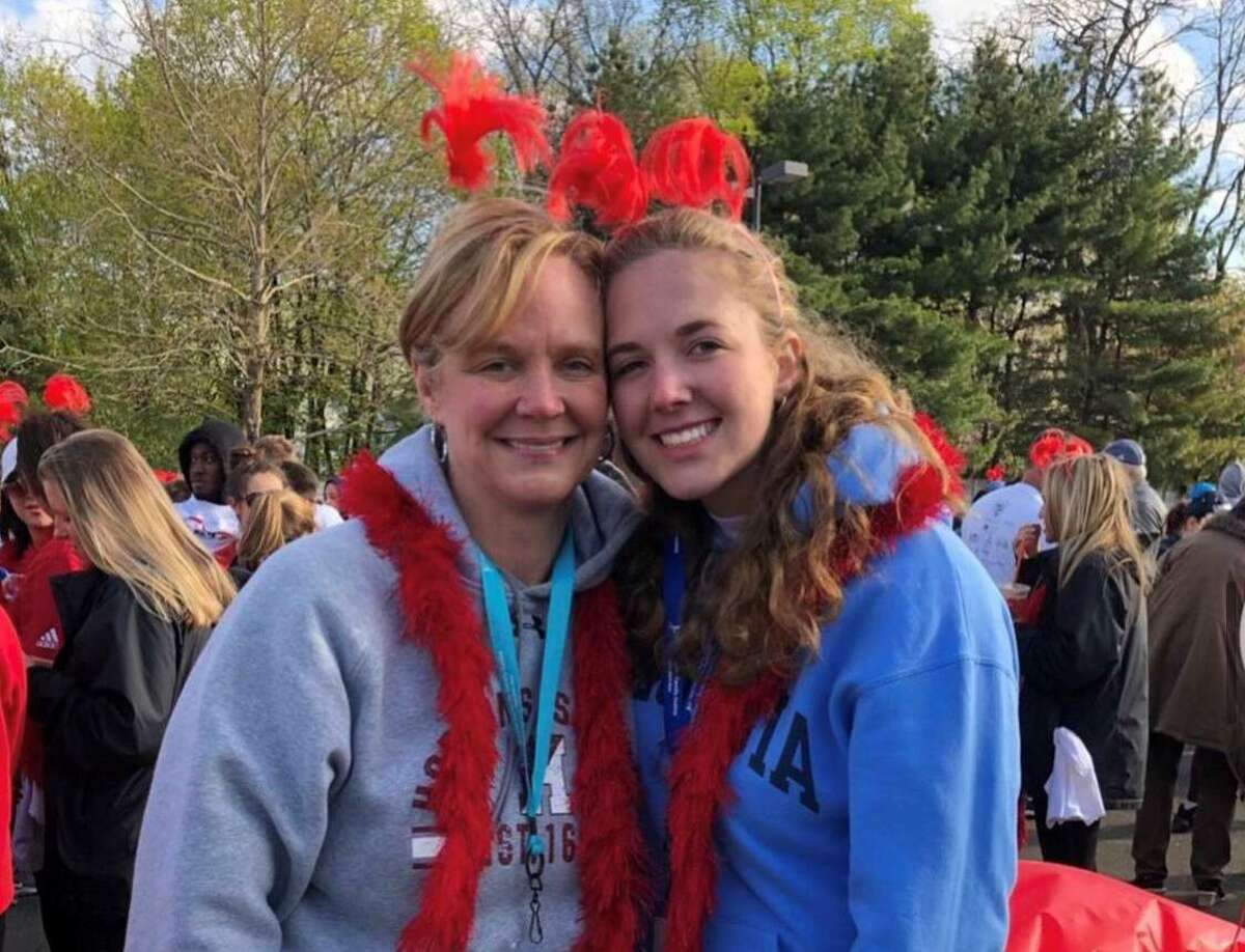 Deb and Casey Dies, of Fairfield, have become the first mother-daughter duo to receive the Beatrice Boucher Volunteer of the Year Award from The Center for Family Justice.