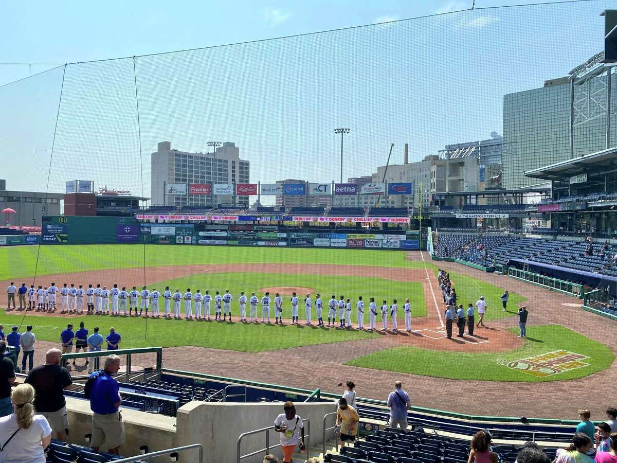 Team Israel played two exhibition games in Hartford at Dunkin' Donuts Park. The team is playing a nine-game pre-Olympic tour along the East Coast before traveling to Tokyo.
