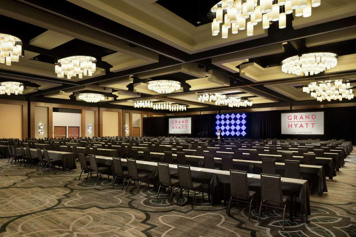 Hyatt Hotels Corp. pumped $19 million into renovating the 10-year-old Grand Hyatt hotel in downtown San Antonio. The upgrades were completed in March 2018.