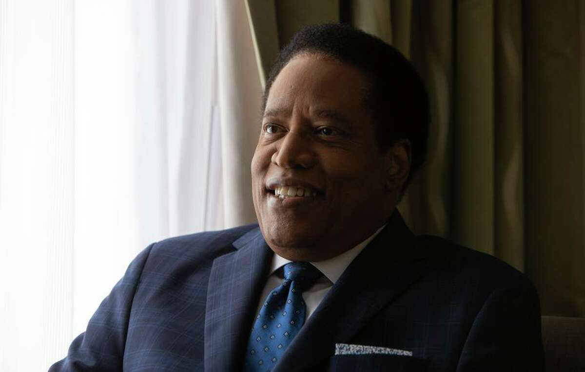 Conservative radio talk show host Larry Elder has entered California's recall election, bringing a well-known voice on the political right to a muddled Republican field trying to oust first-term Democratic Governor Gavin Newsom.