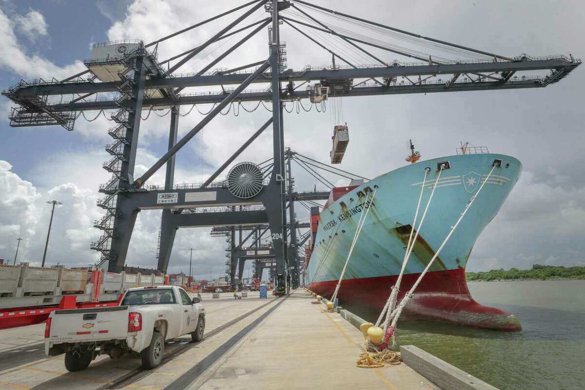 Laurentino Cortizo Cohen, the president of Panama, visited Port Houston Thursday. The expansion of the Panama Canal in 2016 bolstered trade in Houston.
