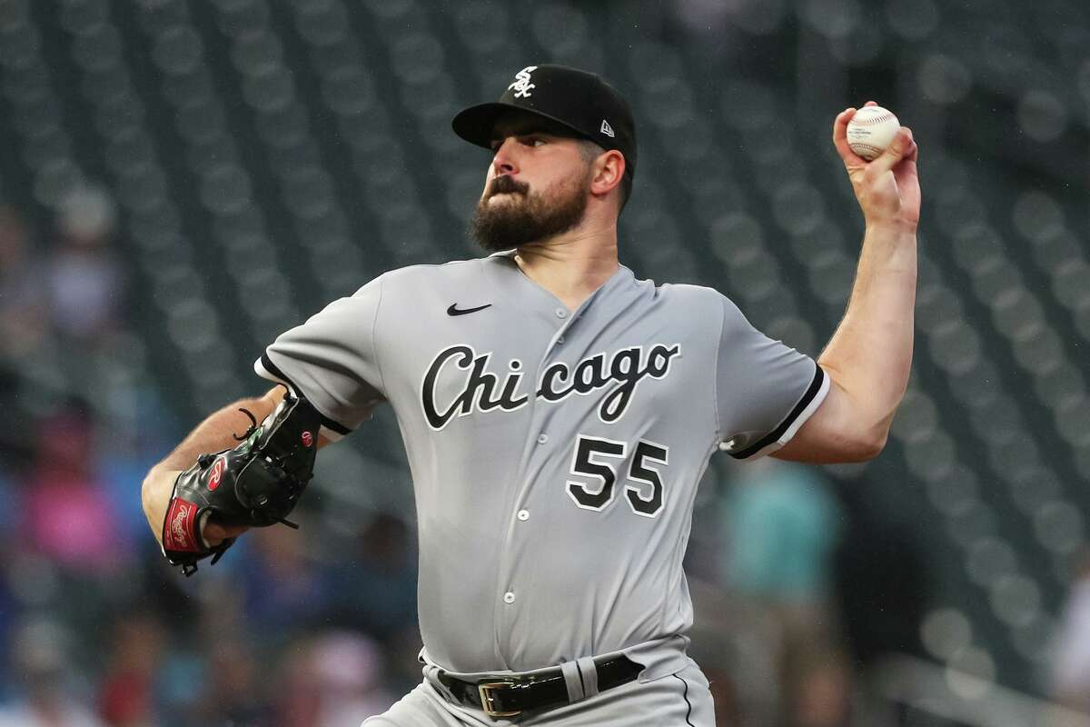 Carlos Rodón, who authored a no-hitter for the White Sox in April, has the American League's third-best ERA (2.31) heading into the season's second half.