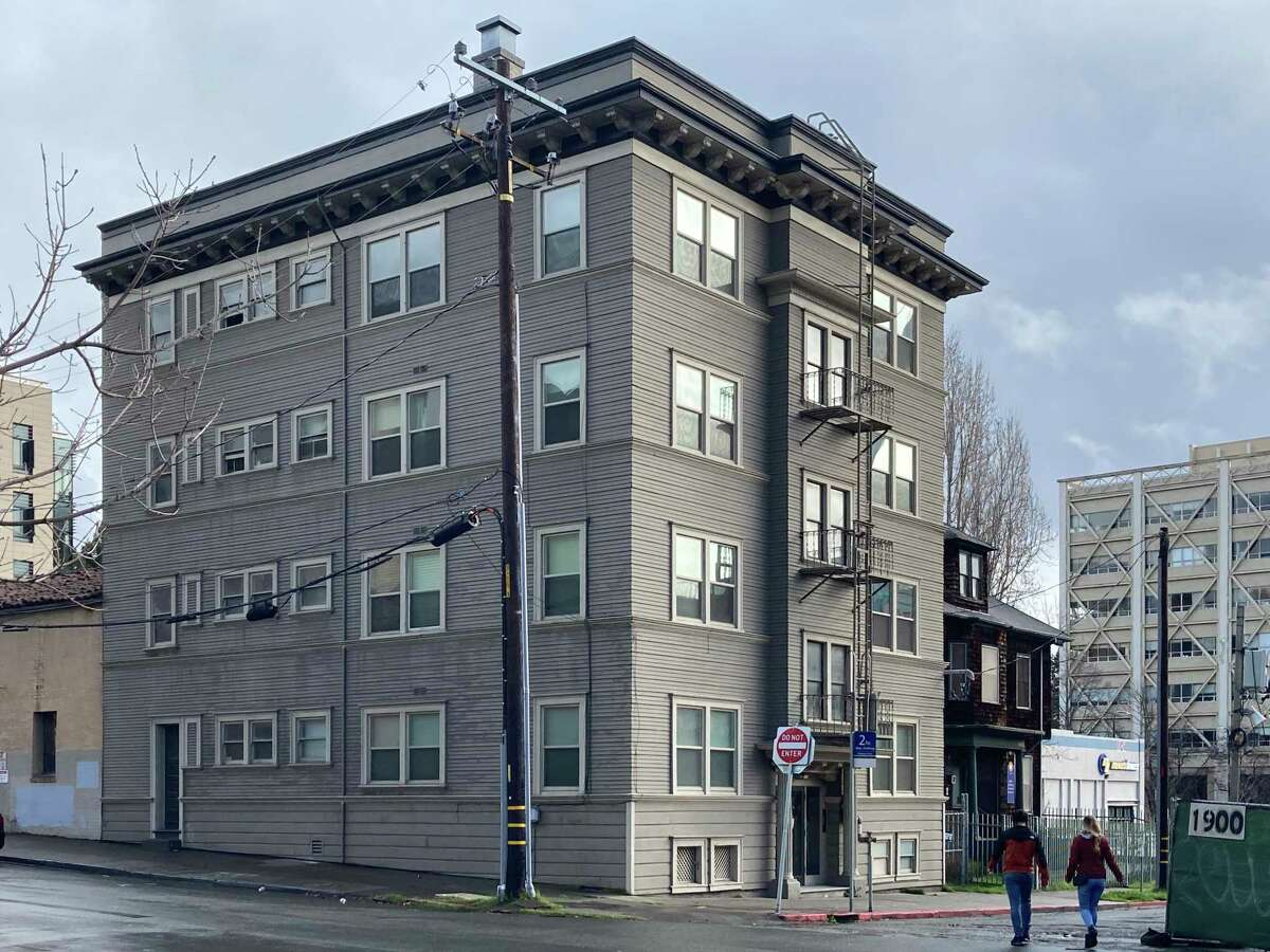 Tenants in the rent-controlled eight-unit apartment building at 1921 Walnut St. in Berkeley will be displaced when it is demolished for student housing.
