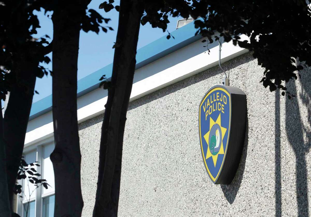This file photograph shows Vallejo Police Department headquarters as seen in Vallejo, Calif. on Tuesday, July 14, 2015.