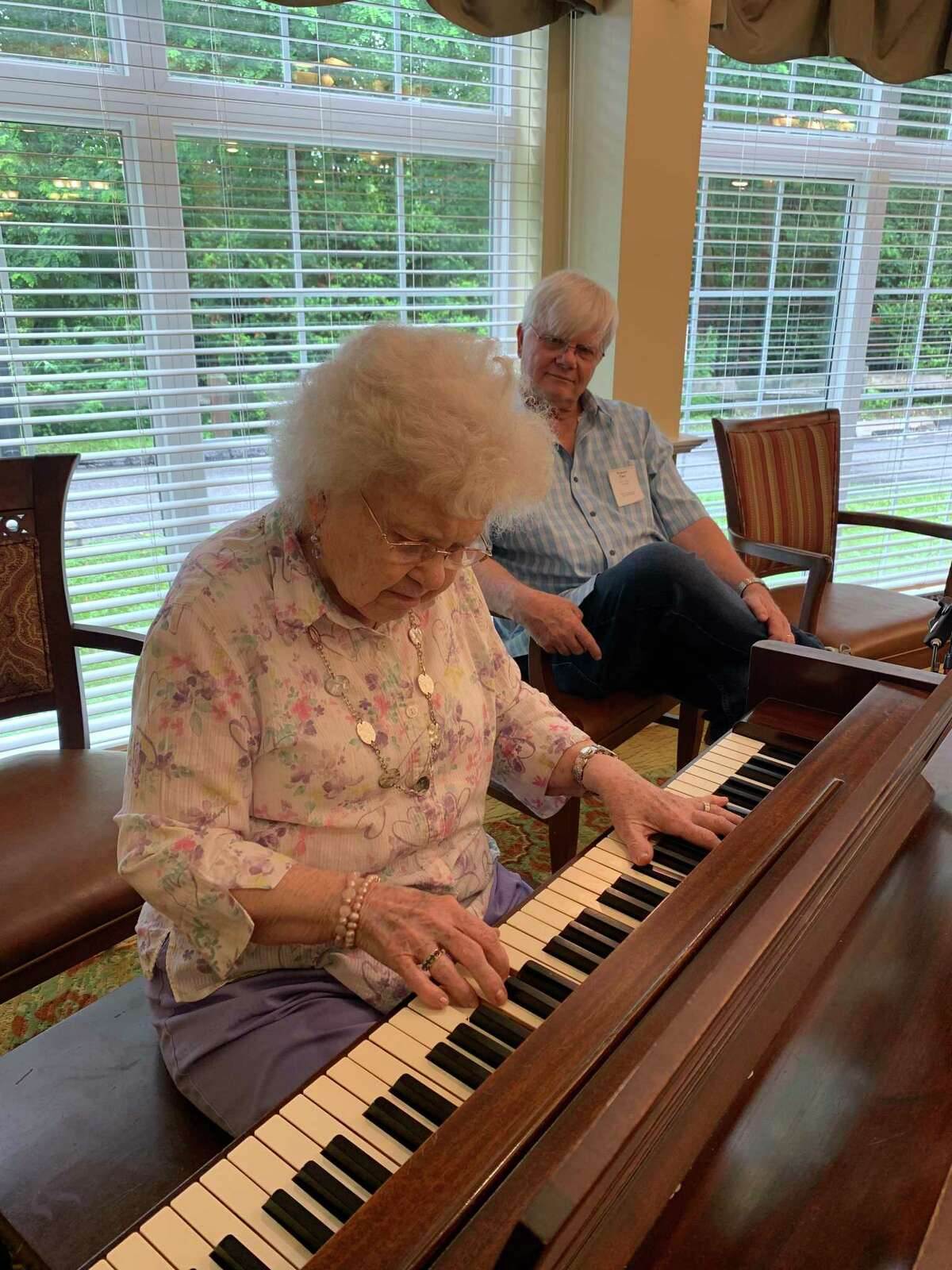 Ruth Darr, a resident at the Cottage at Litchfield Hills in Torrington, celebrated her 100th birthday July 9.