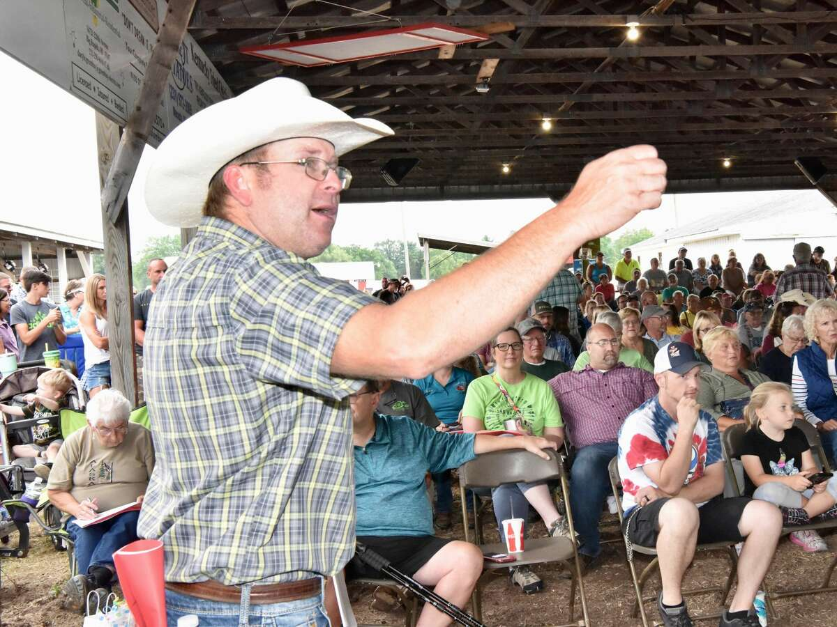 The Mecosta County Fair continued Thursday with the Junior Livestock Auction.