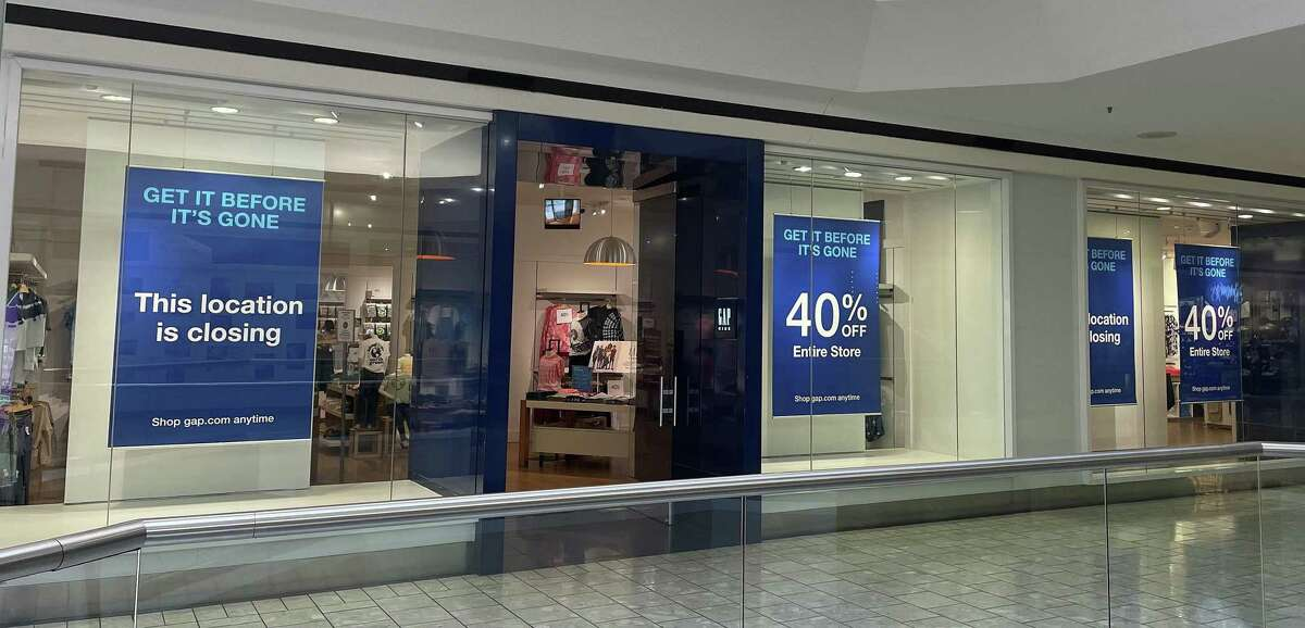 Gap is scheduled to close its store at Stamford Town Center mall at the end of August 2021.