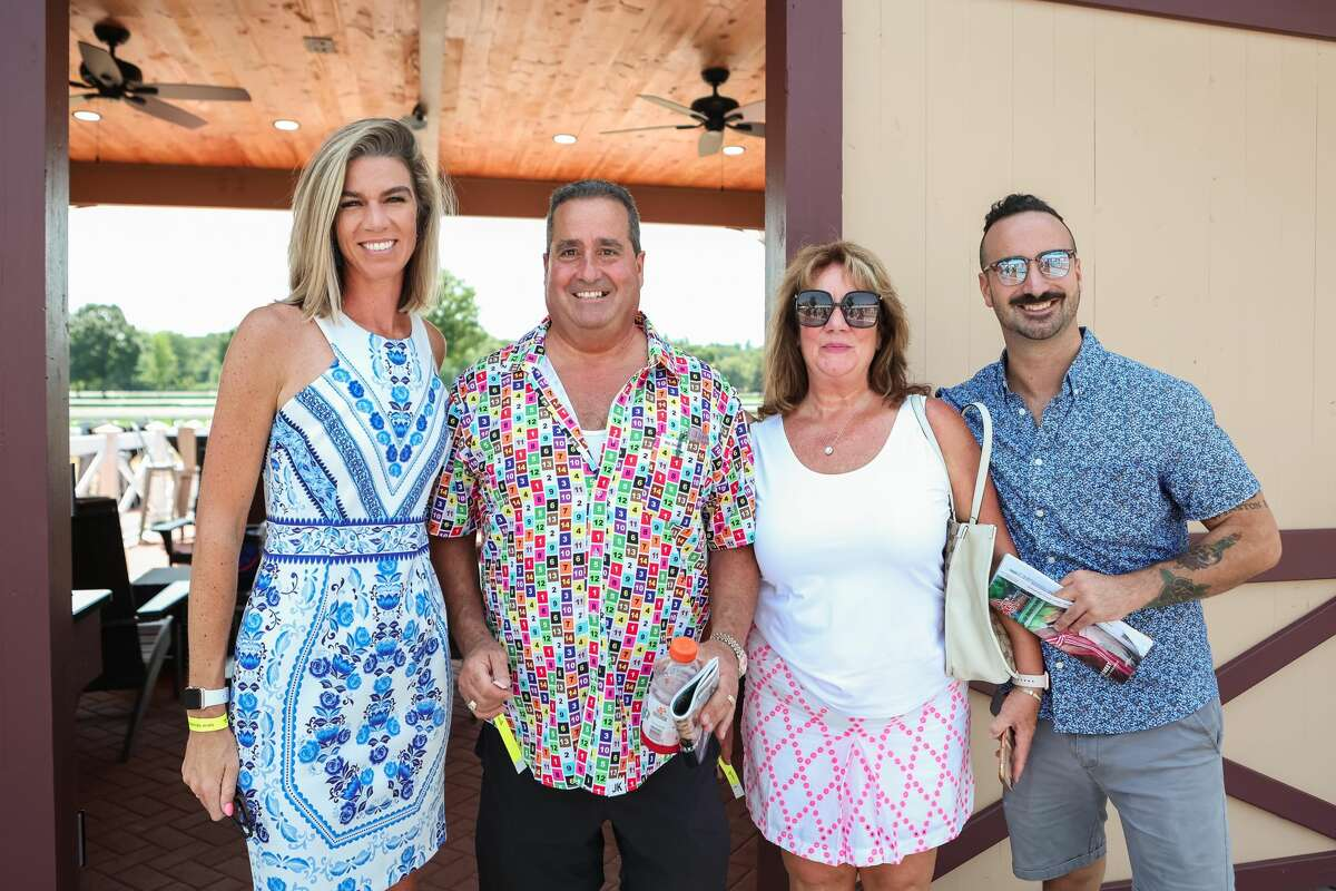 Were you Seen at the opening day of Saratoga Race Course July 15, 2021, in Saratoga Springs, N.Y.?