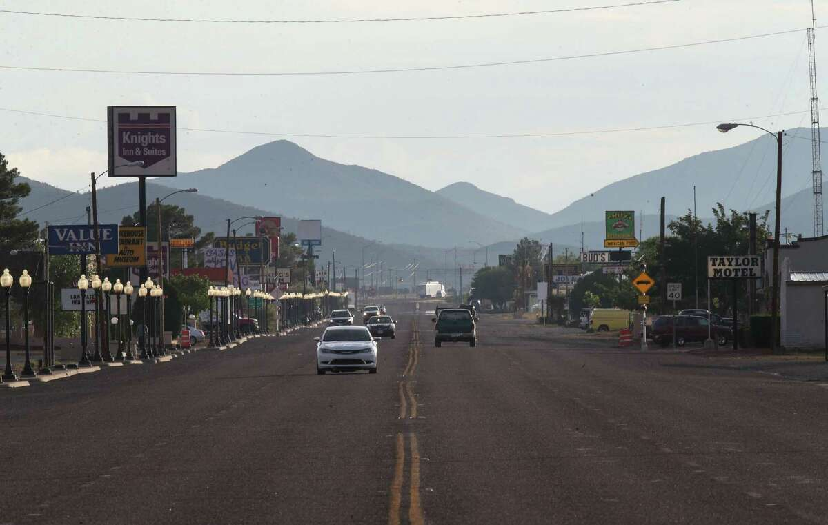 Traffic moves down West Broadway Street on Tuesday, June 29, 2021, in Van Horn.