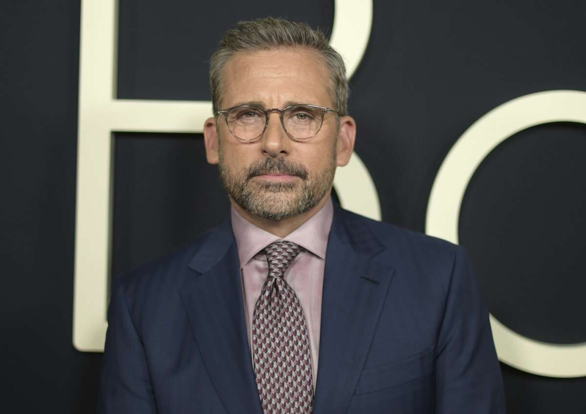 """FILE - In this Oct. 8, 2018 file photo, Steve Carell arrives at the premiere of """"Beautiful Boy"""" in Beverly Hills, Calif. Carell will reunite with his creative team from """"The Office,"""" Greg Daniels and Howard Klein, for the new Netflix comedy series """"Space Force."""" (Photo by Richard Shotwell/Invision/AP, File)"""