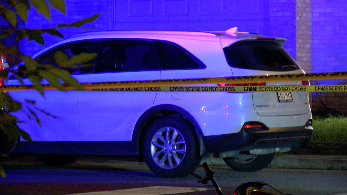 A man riding a motorized bicycle was hit and killed late Wednesday in a residential area on the far Northwest Side, San Antonio police said.