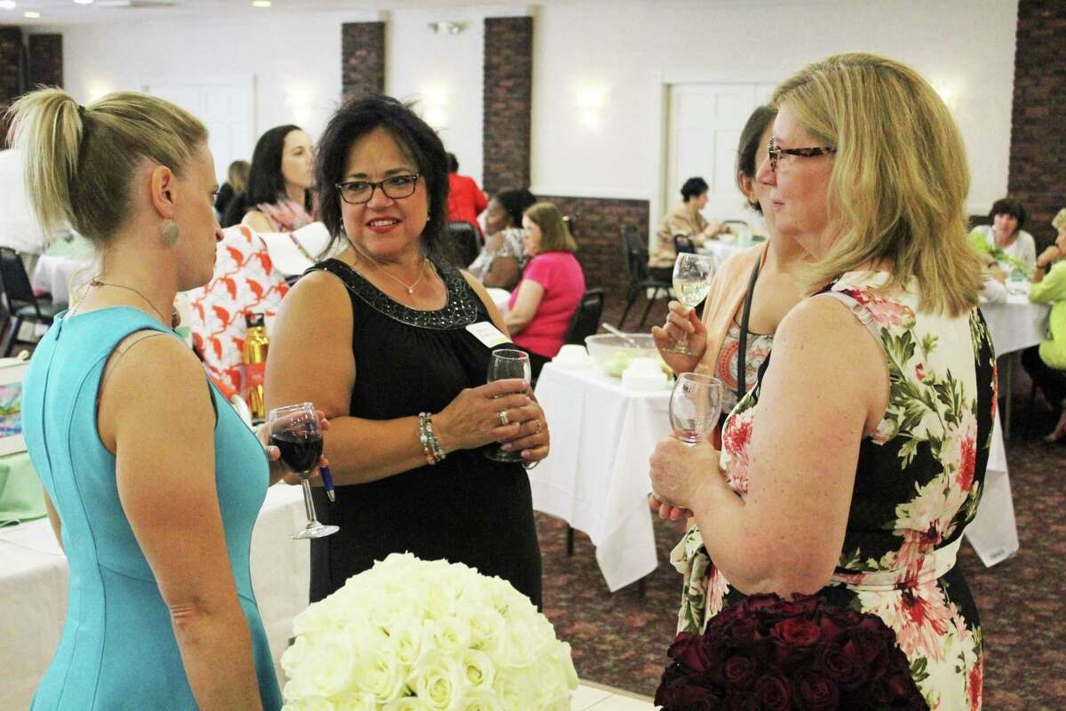 The Middlesex United Way Women's Initiative held its 11th annual Power of the Purse fundraiser in 2019 at the Crystal Ballroom at the Middletown Elks Lodge.