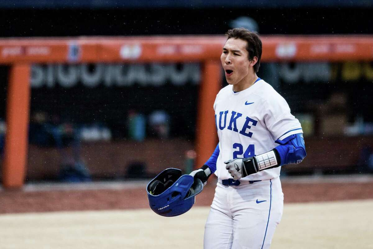 Duke's Chad Knight, a Westport native and Staples graduate.
