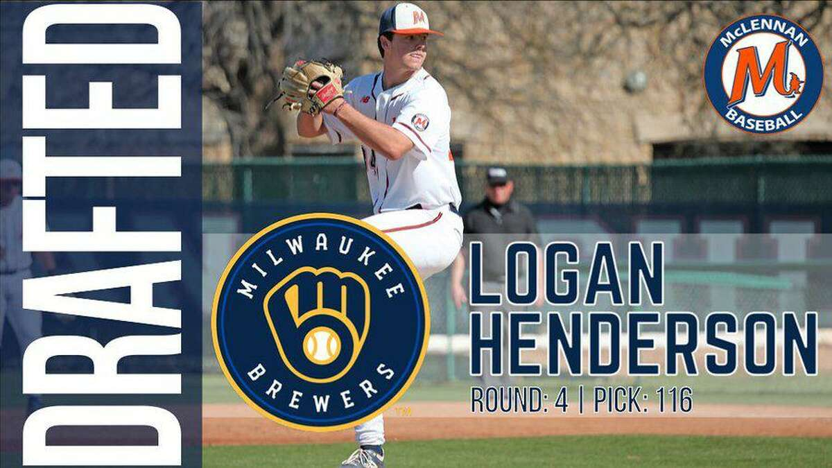 Cinco Ranch graduate and McLennan College pitcher Logan Henderson was selected in the fourth round of the 2021 Major League Baseball Draft by the Milwaukee Brewers. Henderson was voted NJCAA Division I Pitcher of the Year as a freshman this season.