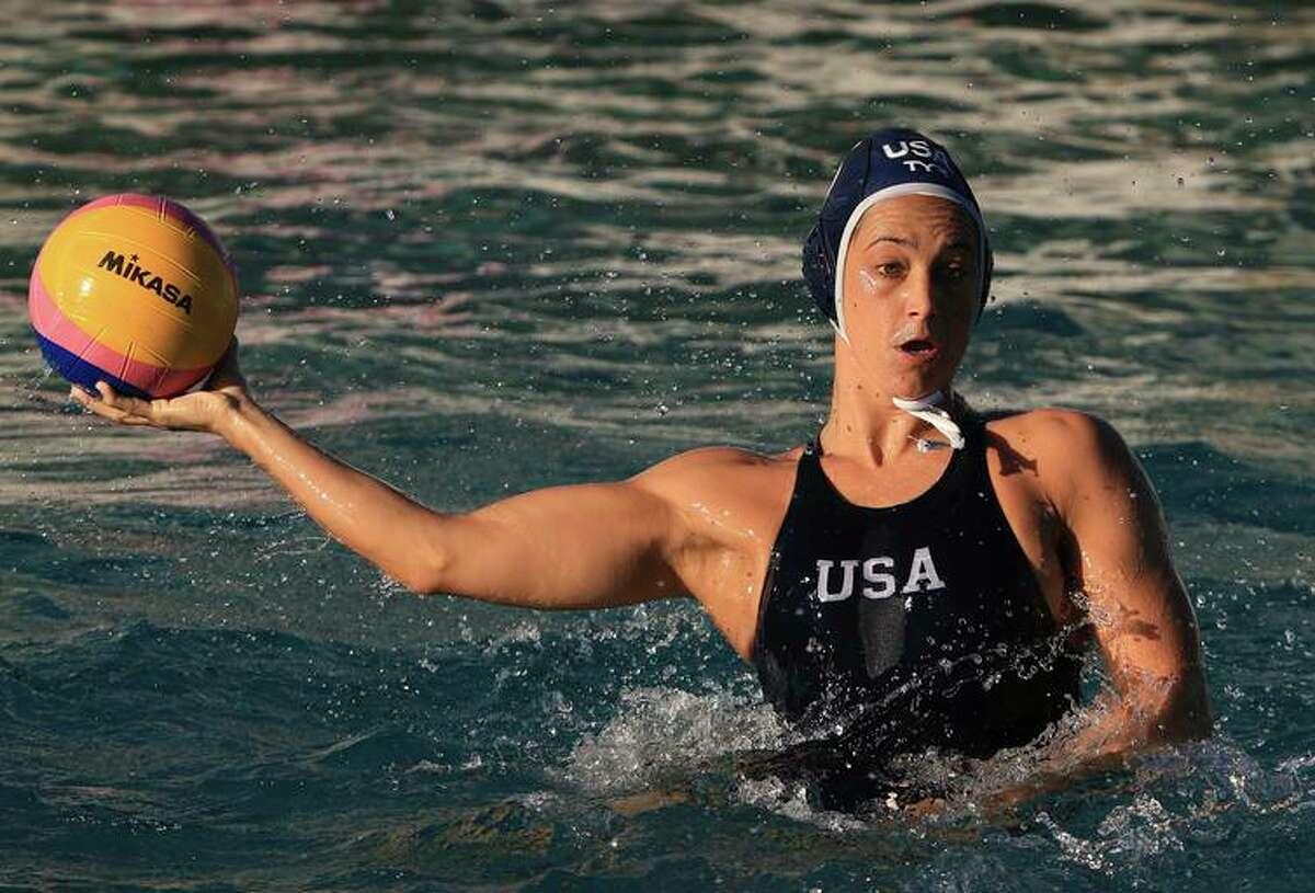 Maggie Steffensは最も印象的な米国の女性水球チームの主張です。