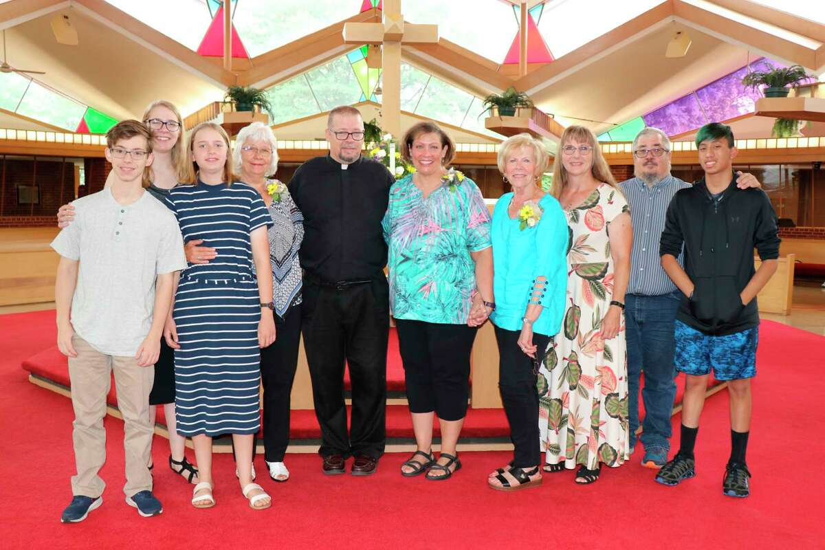 Pastor Dan Kempin was recognized with family in attendance, including his mother Judy and brother David and family from Wisconsin, as well as his mother-in-law Sharon Chance from Chicago, Illinois. (Photo provided)