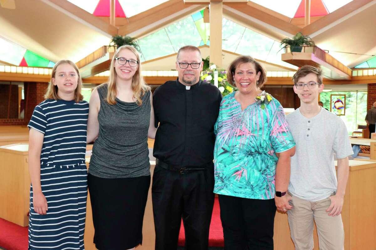 The Kempin family (from left): Hannah, Sarah, Pastor Daniel Kempin, Karen, Jonathan. (Photo provided)