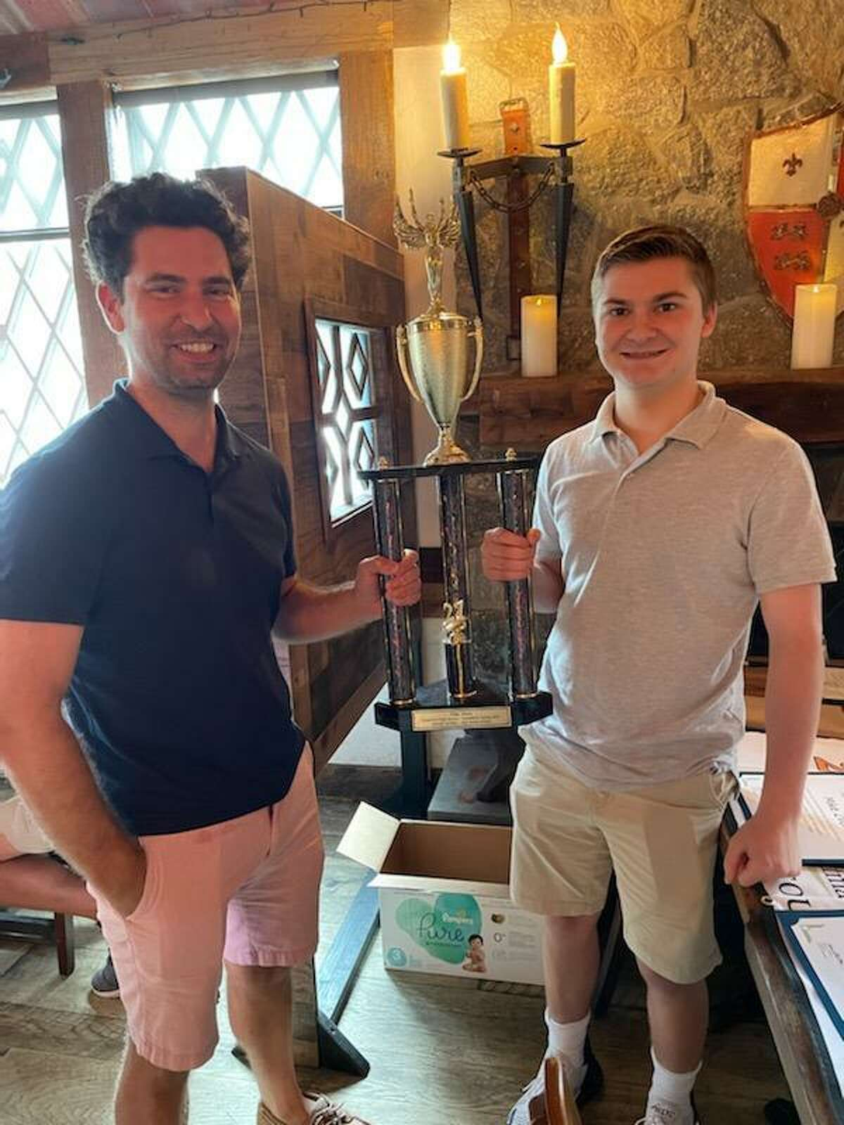 Ridgefield High School business student and investment club president Mike Zvon recently placed first in the U.S. in a national essay competition called InvestWrite.