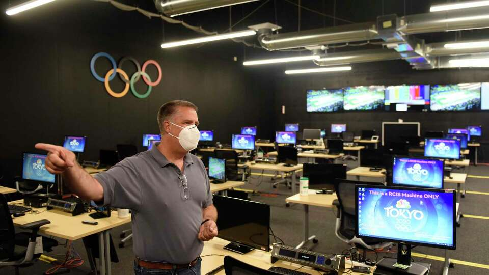 Broadcasting the Olympics from NBC Sports' Connecticut offices will be different in a COVID world