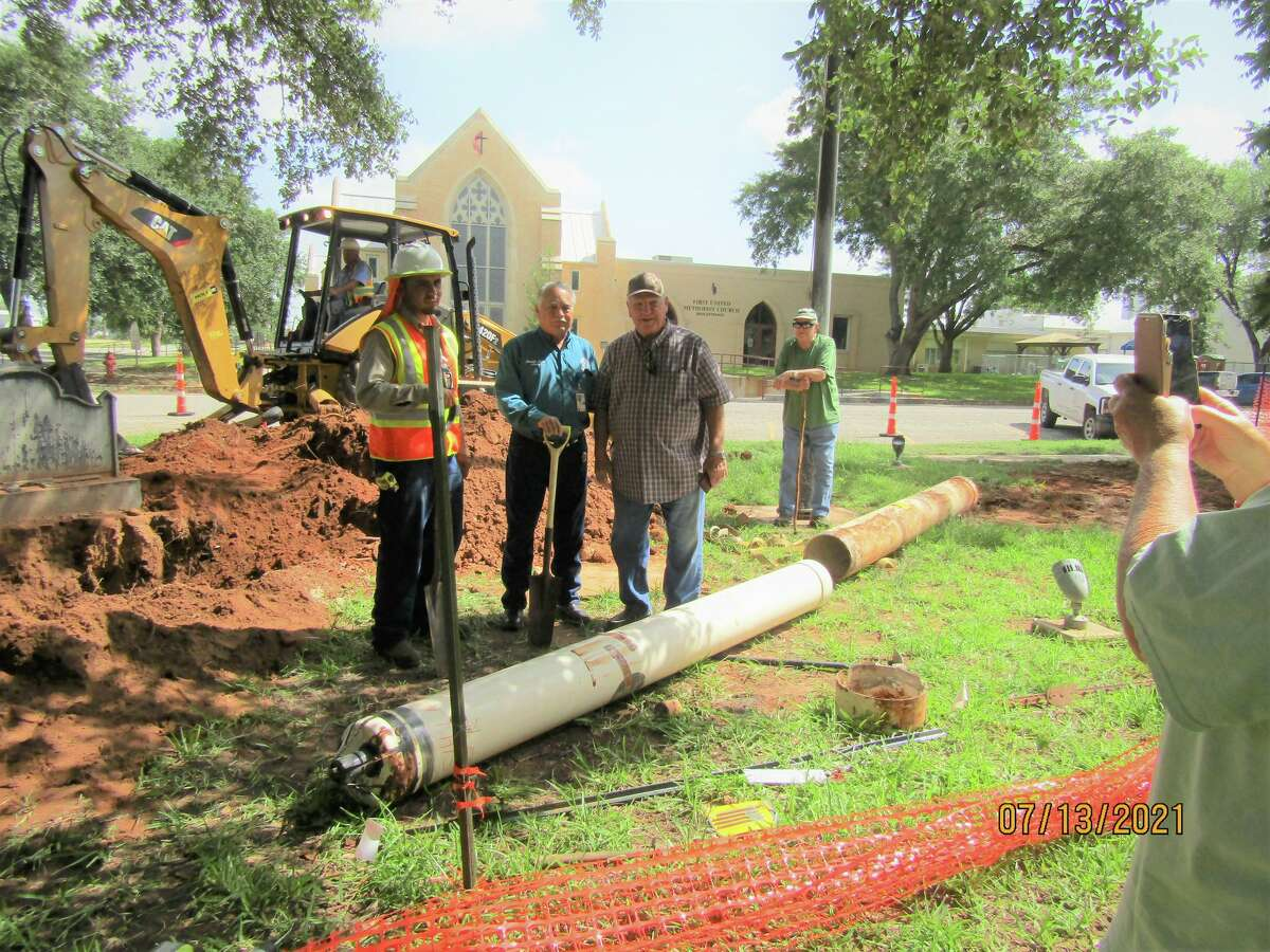 A 50-year-old time capsule was unearthed in Frio County, about an hour south of San Antonio, on July 13 after officials spent a month searching for it.