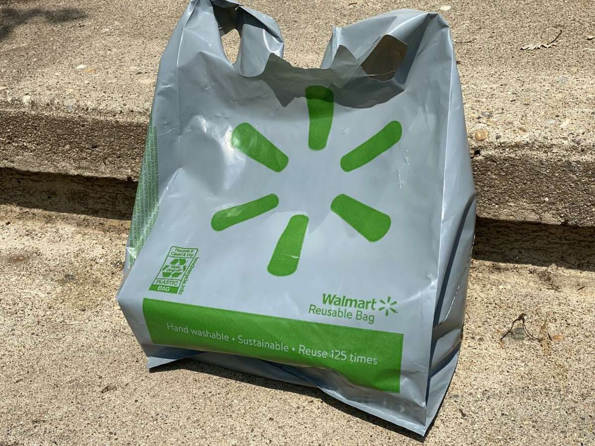 The Walmart plastic bag is being criticized by environmentalists.
