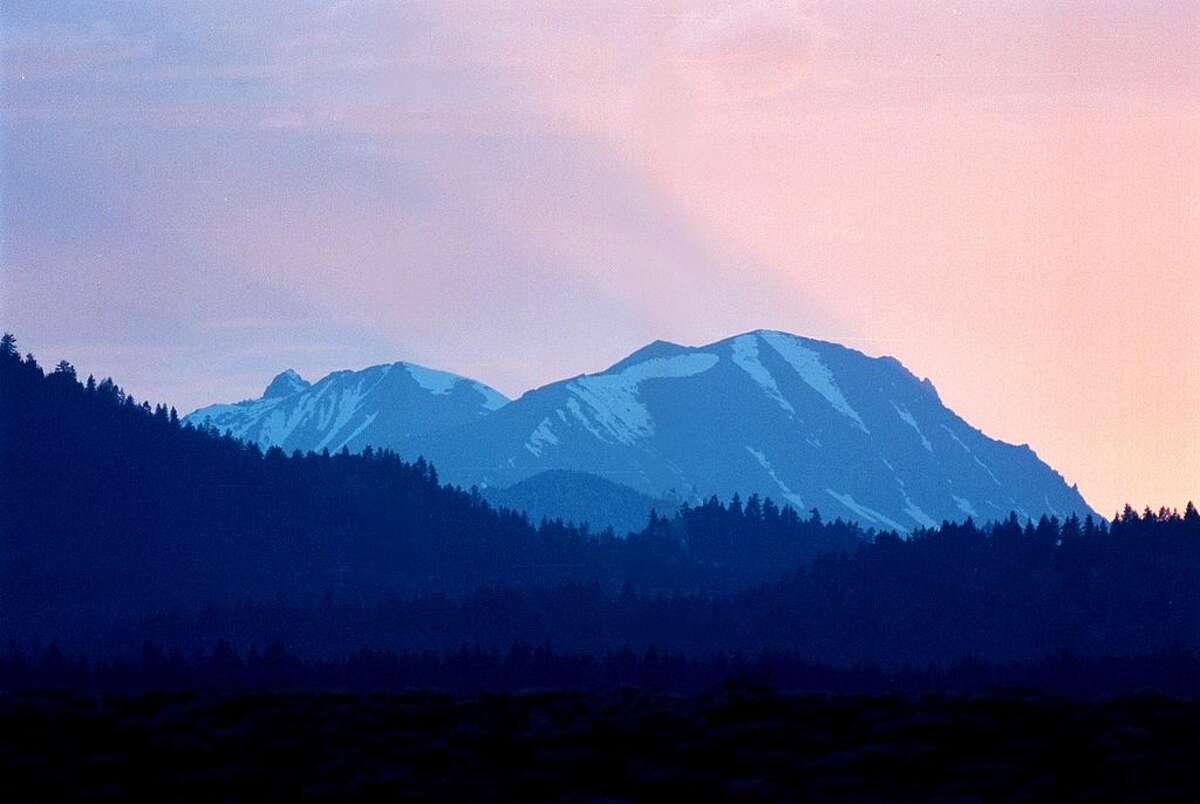 Mammoth Mountain, in the Eastern Sierra Nevada Mountains of California.