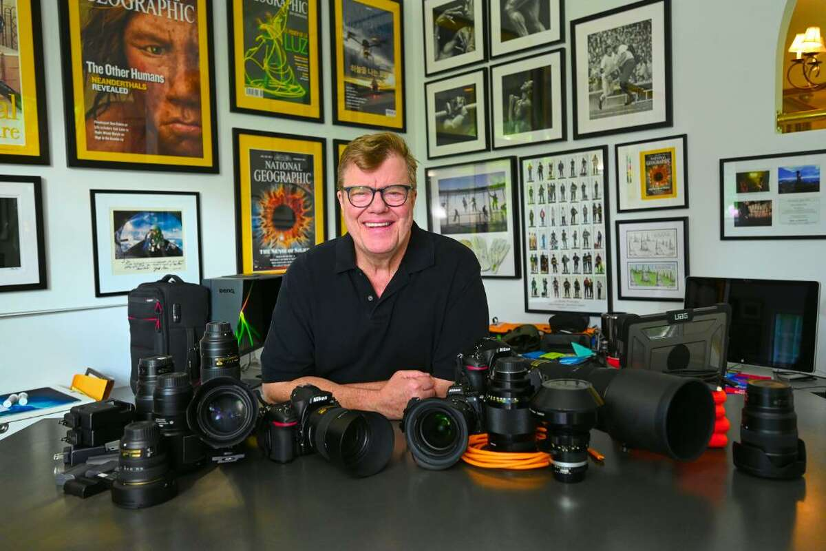 Professional photographer Joe McNally, of Ridgefield, is packing his camera bags to capture the summer Olympic games in Tokyo for Zuma Press, the world's largest independent press agency.