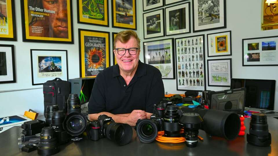 Ridgefield photographer packs his camera bags for Tokyo games