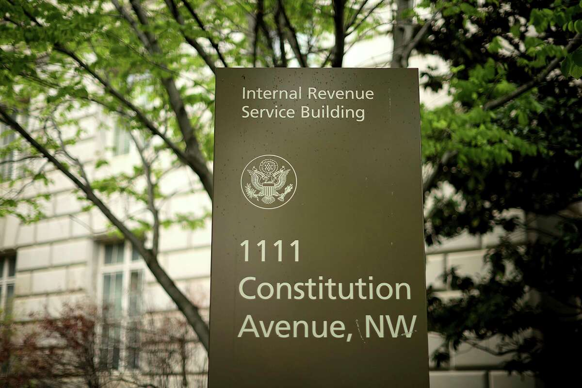 The Internal Revenue Service headquarters building in Washington, DC. (Chip Somodevilla/Getty Images/TNS)