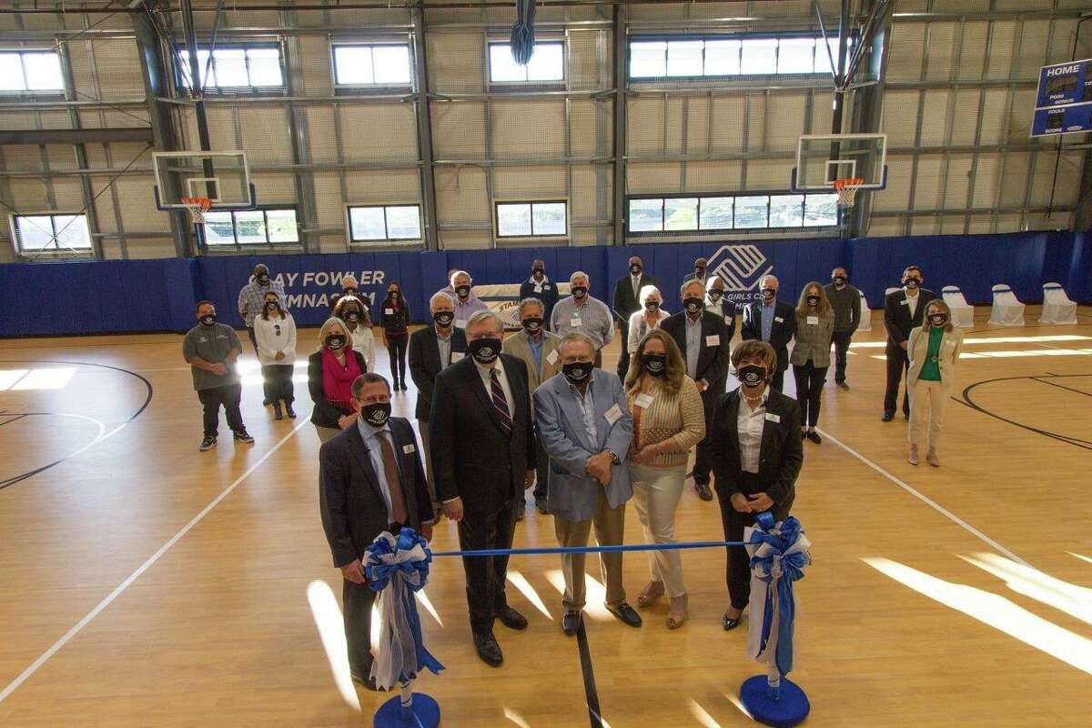 The opening of the Teen Center last September at the Stamford Boys & Girls Club.