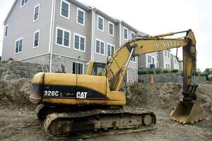 Construction of the new town homes nears completion at Armstrong Court in the Chickahominy section of Greenwich, Conn. Monday, June 1, 2020. Other projects are in the planning stages and the town is looking over the progress of its affordable housing goals in the Plan of Conservation and Development.