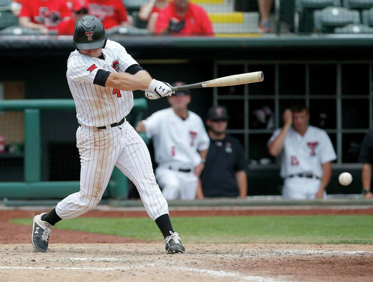 Texas Tech sophomore infielder/outfielder and Tomball Memorial graduate Baker was drafted in the fourth round with the 130th pick by the Tampa Bay Rays.