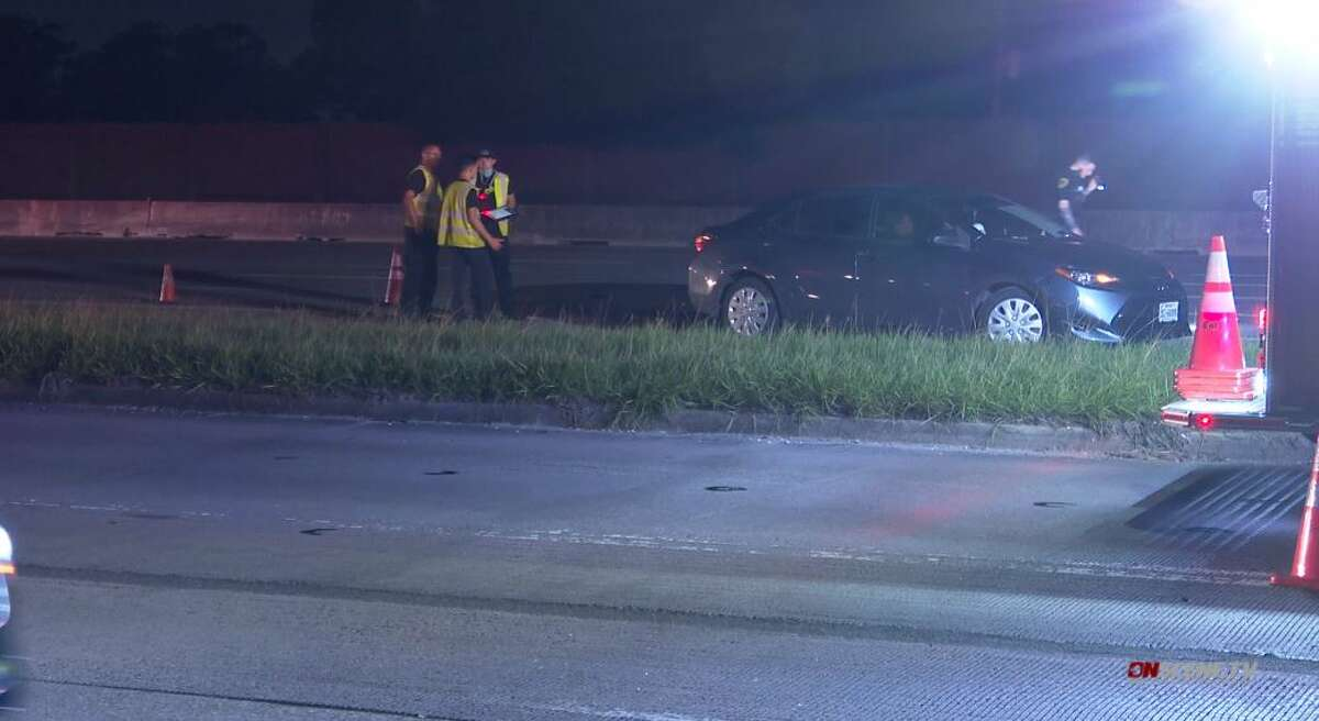 A man was struck and killed on the South Loop on July 16, 2021, when he exited his vehicle after learning he had a flat tire.
