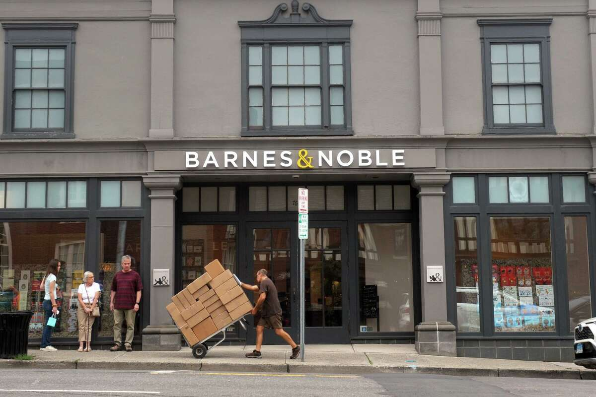 Barnes & Noble recently relocated to a new location on the Boston Post Road East, in Westport, Conn. July 13, 2021.