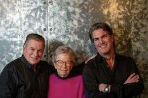 From left, Kevin Jennings, Deborah Fuller, Chris Herrmann, co-founders of Pride in the Hills