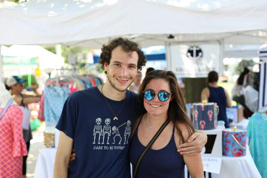 The town of Fairfield hosted a sidewalk sale on Saturday, July 17, 2021. Shoppers received discounts at participating shops and booths set up on Sherman Green. Were you SEEN? Photo: Matt Stevens