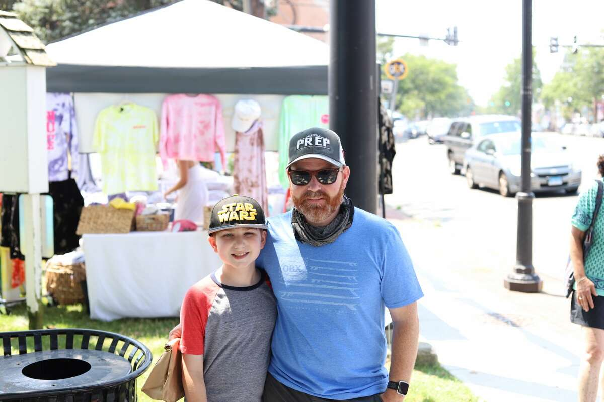 The town of Fairfield hosted a sidewalk sale on Saturday, July 17, 2021. Shoppers received discounts at participating shops and booths set up on Sherman Green. Were you SEEN?