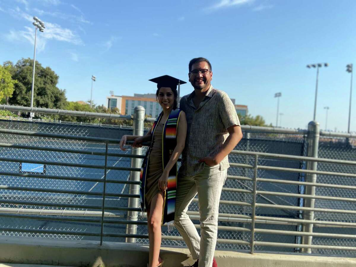 Oakland resident Juan Prieto is protected from deportation under the program, but his sister, recent UC Riverside graduate Kassandra Merlos, is not now that a federal judge in Texas halted new enrollments to the Obama-era initiative.