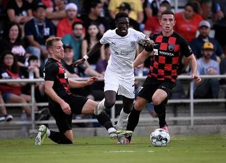 Austin Bold FC plays San Antonio FC on Saturday, July 3, 2021, at Toyota Field in San Antonio. (Darren Abate/USL Championship)