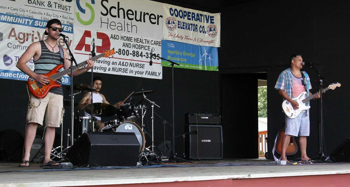 B-N-T performs at the Pigeon Band Shell during Summerfest on July 17.