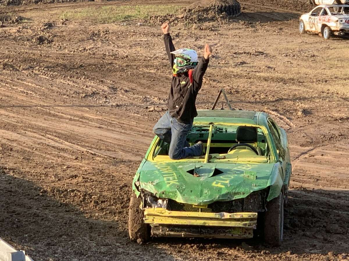 The final night of the Mecosta County Fair brought out a capacity crowd to see the action at the stock car races and demolition derby on Saturday night.